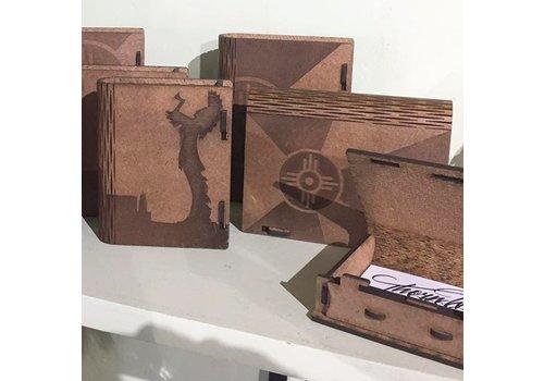 Steve Thornton Wood Living Hinge Book Box