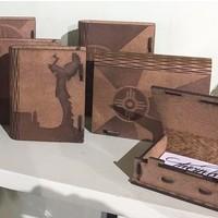 Wood Living Hinge Book Box