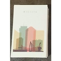 WICHITA Pastel Postcard