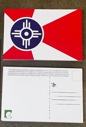 The Workroom ICT FLAG Postcard