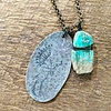 Stamped Keeper Necklace