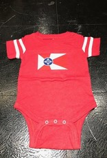 GMFD Wichita Flag Onesie Red/White Stripes