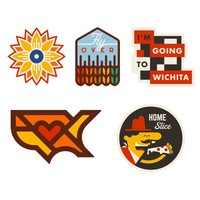 Wichita KS Heartlandia Decal