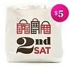 2nd Saturday 2nd Sat Tote Bag