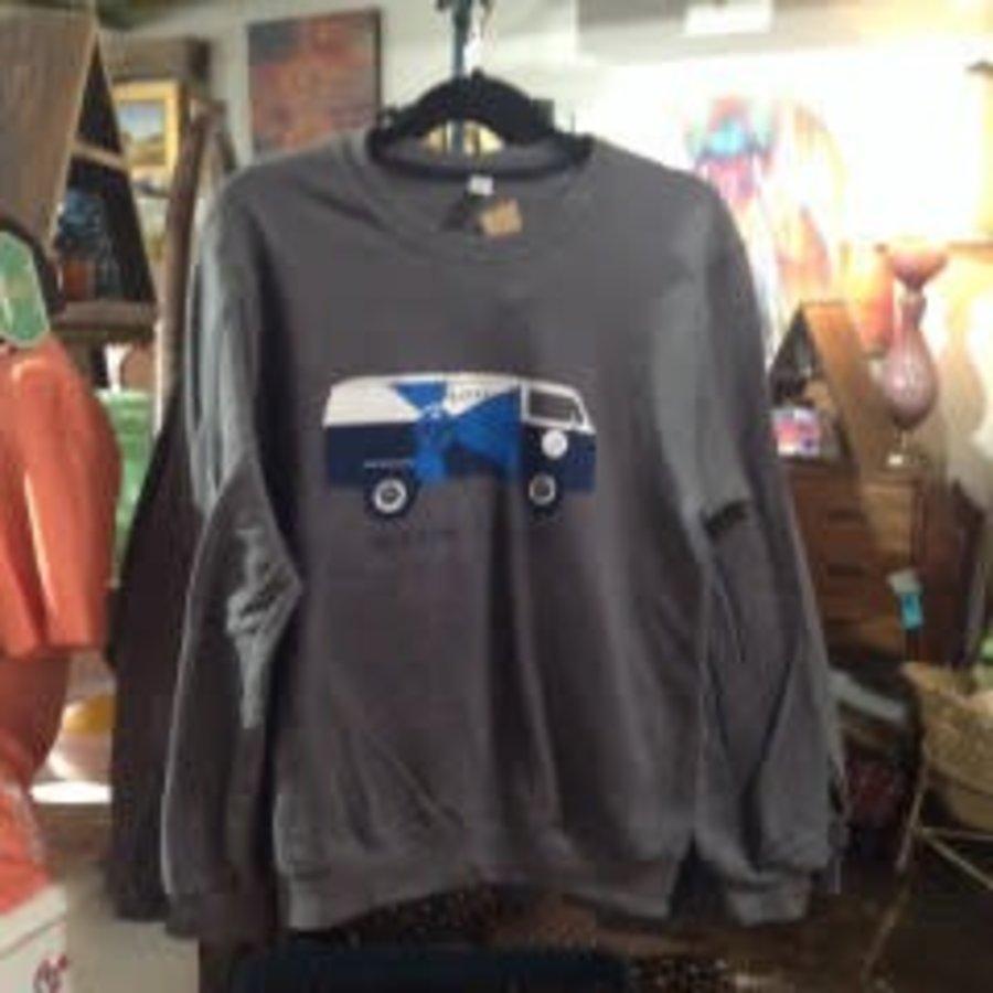VW #LOVEICT Bus Crewneck