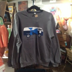 The Workroom VW #LOVEICT Bus Crewneck