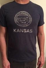 Trail Threads Kansas Great Seal Tee