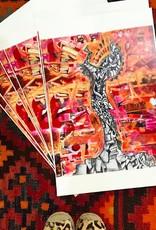 Josh Johnico Keeper Art Print