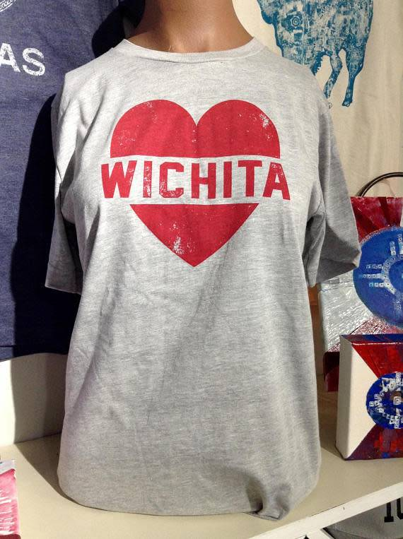 Trail Threads Wichita Heart Tee