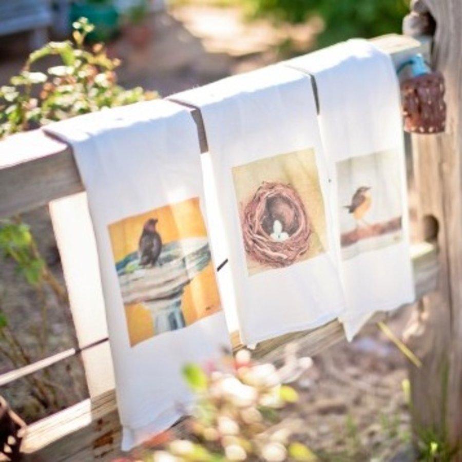 Original Color Print Tea Towels