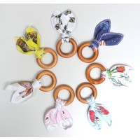 Illustrated Baby Teether Toy