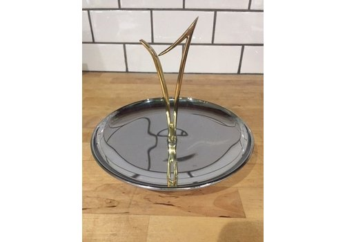 The Workroom Mid Century Modern Metal Serving Dish