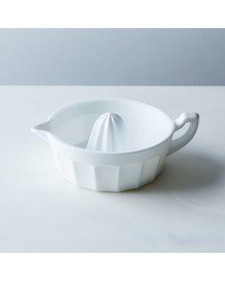 Mosser Glass Milk Glass Juice Reamer