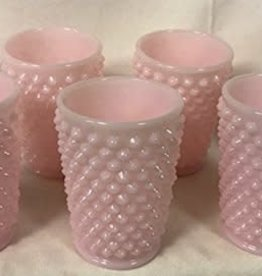 Mosser Glass 9 oz Crown Tuscan Hobnail Glass Tumbler