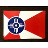 The Workroom ICT Flag Static Clings- 3.5x5.25
