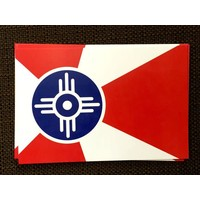 ICT Flag Static Clings- 3.5x5.25