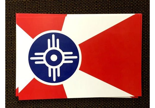 The Workroom ICT Flag Magnet 2x3
