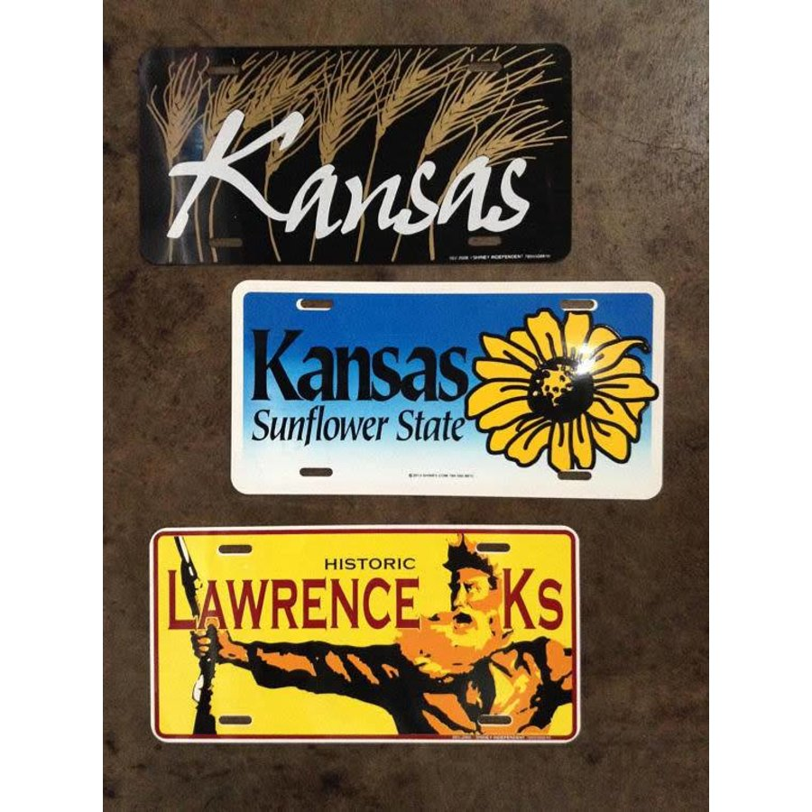 Sunflower State License Plate
