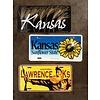Lawrence KS License Plate
