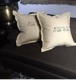 The Workroom Wichita Coordinates Pillow