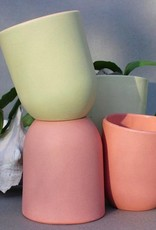 Del Norte Design Handmade Ceramic Slant Cups