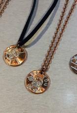 Madi Z's Engraved Penny Necklace