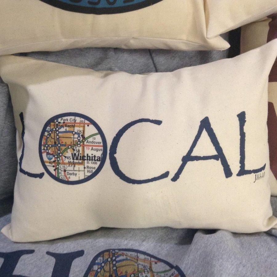 """""""Local"""" 16""""x12' Lumbar Pillow"""