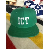 Flat Bill Embroidered Hat