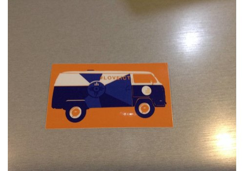 The Workroom VW Bus Decal