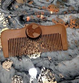 ICTMakers Peach & Cherry wood comb