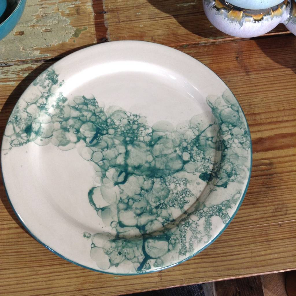 Legacy Pottery Works Dinner plate