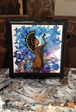CQ Artwork 4 x 4 handmade Keeper plaque