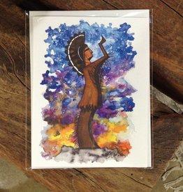 CQ Artwork Keeper greeting card
