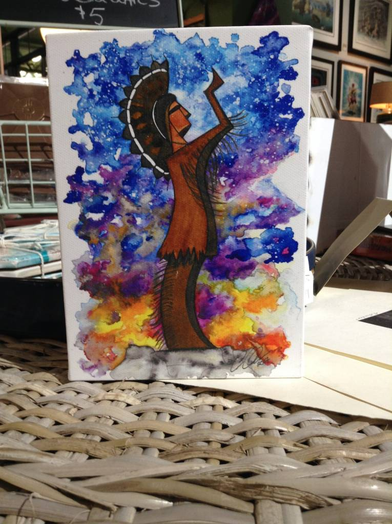 CQ Artwork 5 x 7 Canvas Keeper