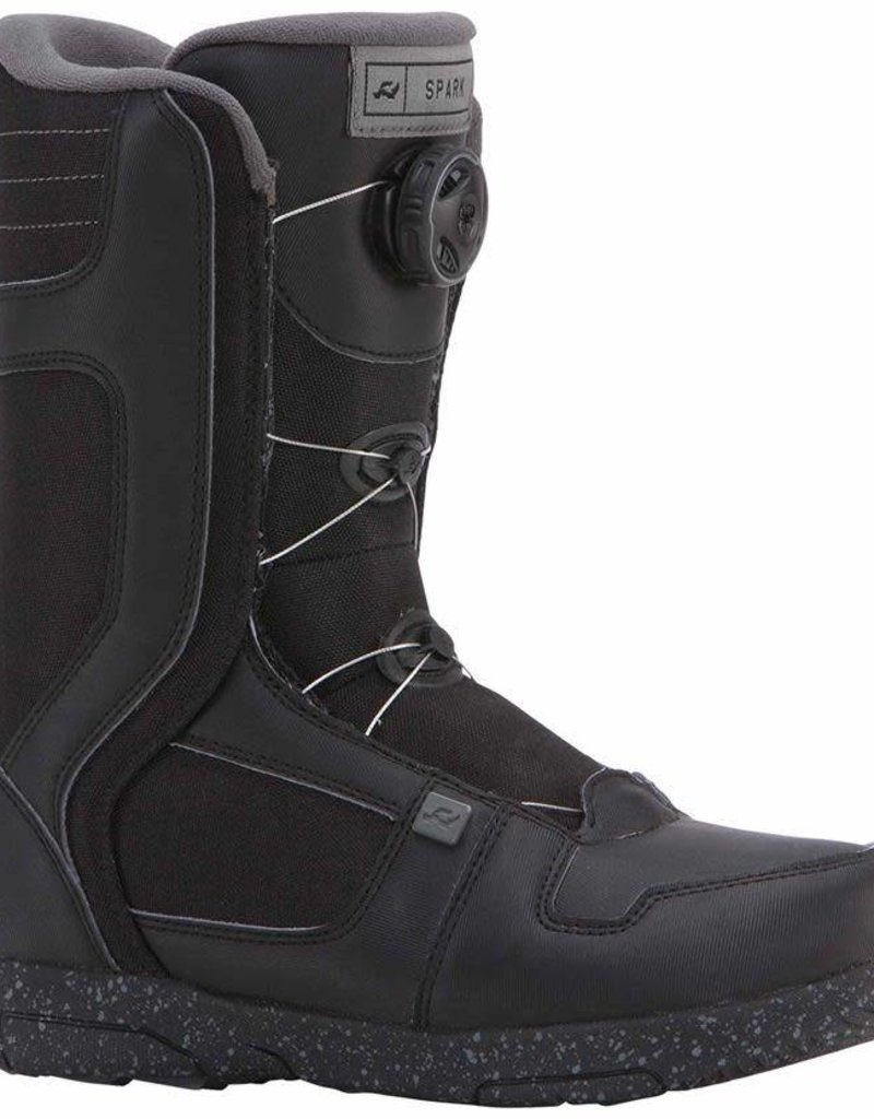RIDE RIDE SPARK JR BOOT BLK 6