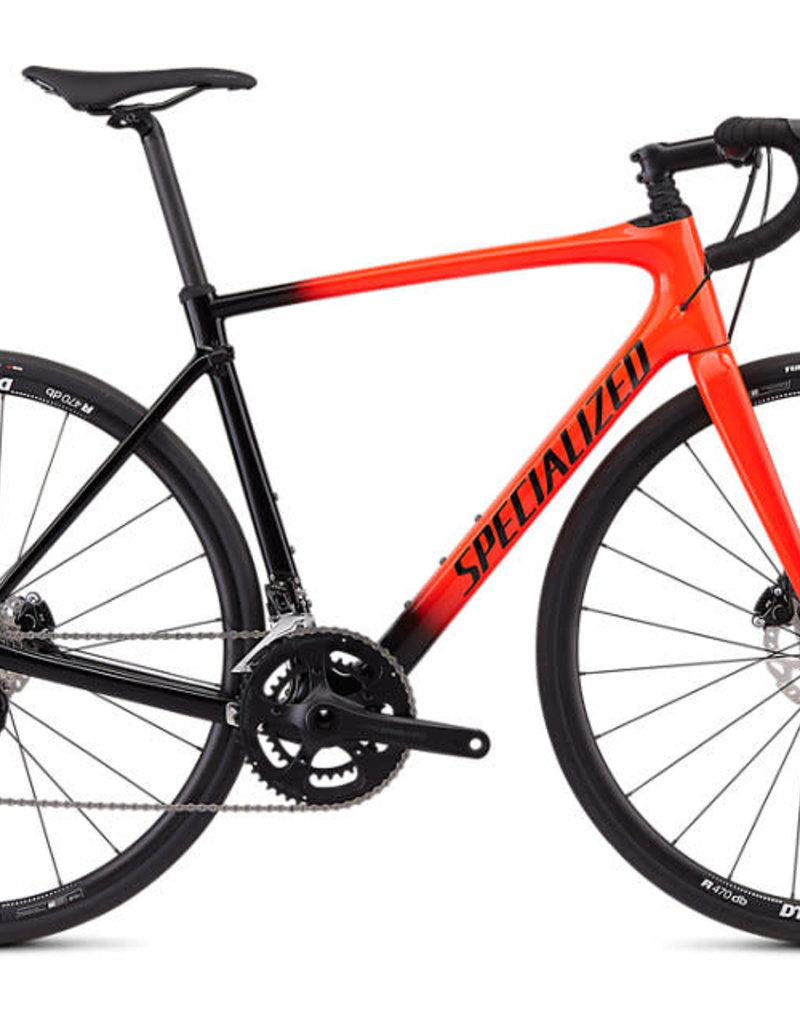 SPECIALIZED SPECIALIZED ROUBAIX SPORT - Gloss Rocket Red/Black Fade/Rocket Red/Clean 56