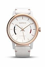 GARMIN Garmin, Vivomove Classic, Watch, Rose gold tone/ White leather band