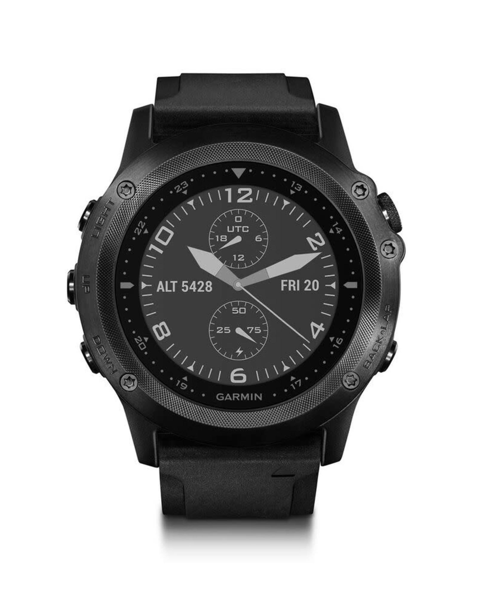 GARMIN Garmin, Tactix Bravo, Watch only, Black with black silicone strap, 010-01338-0C
