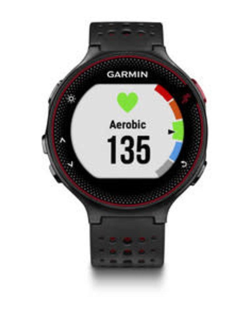 GARMIN Garmin, Forerunner 235, HRM Watch, Black/Grey, 010-03717-54