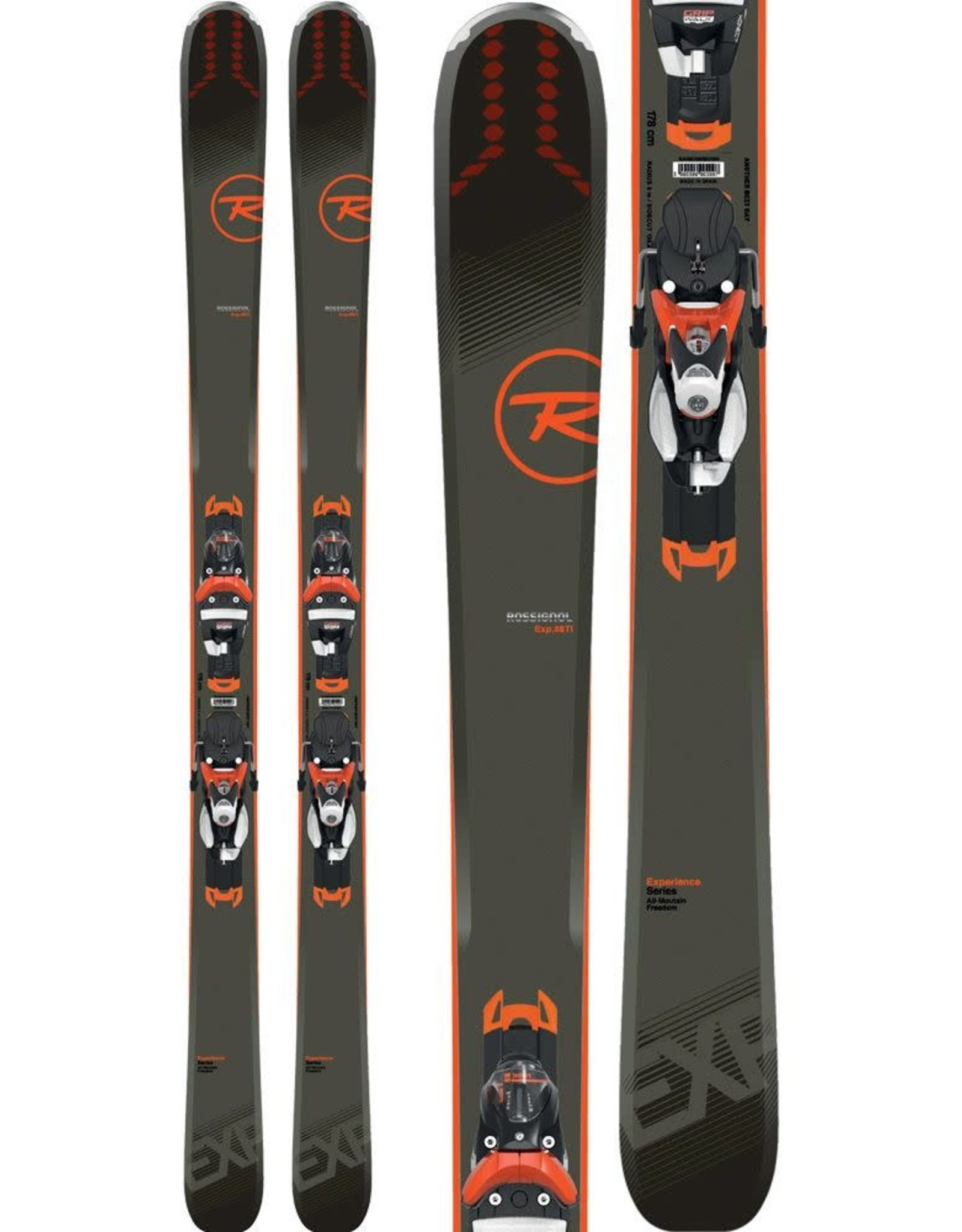 ROSSIGNOL DEMO***SK-4 Rossignol EXPERIENCE 88 HD Ski +Binding NX12 kONNECT -173