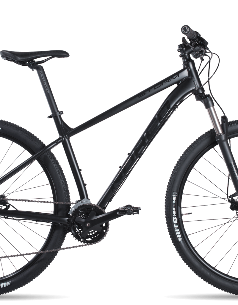 NORCO Norco 2019 Storm 1 Small Black/Gloss Black 27.5""