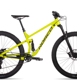 NORCO Norco Fluid 2 Full Suspension  M Citron/Charcoal/Black 29""