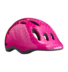LAZER HELMET MAX+  Pink Dot