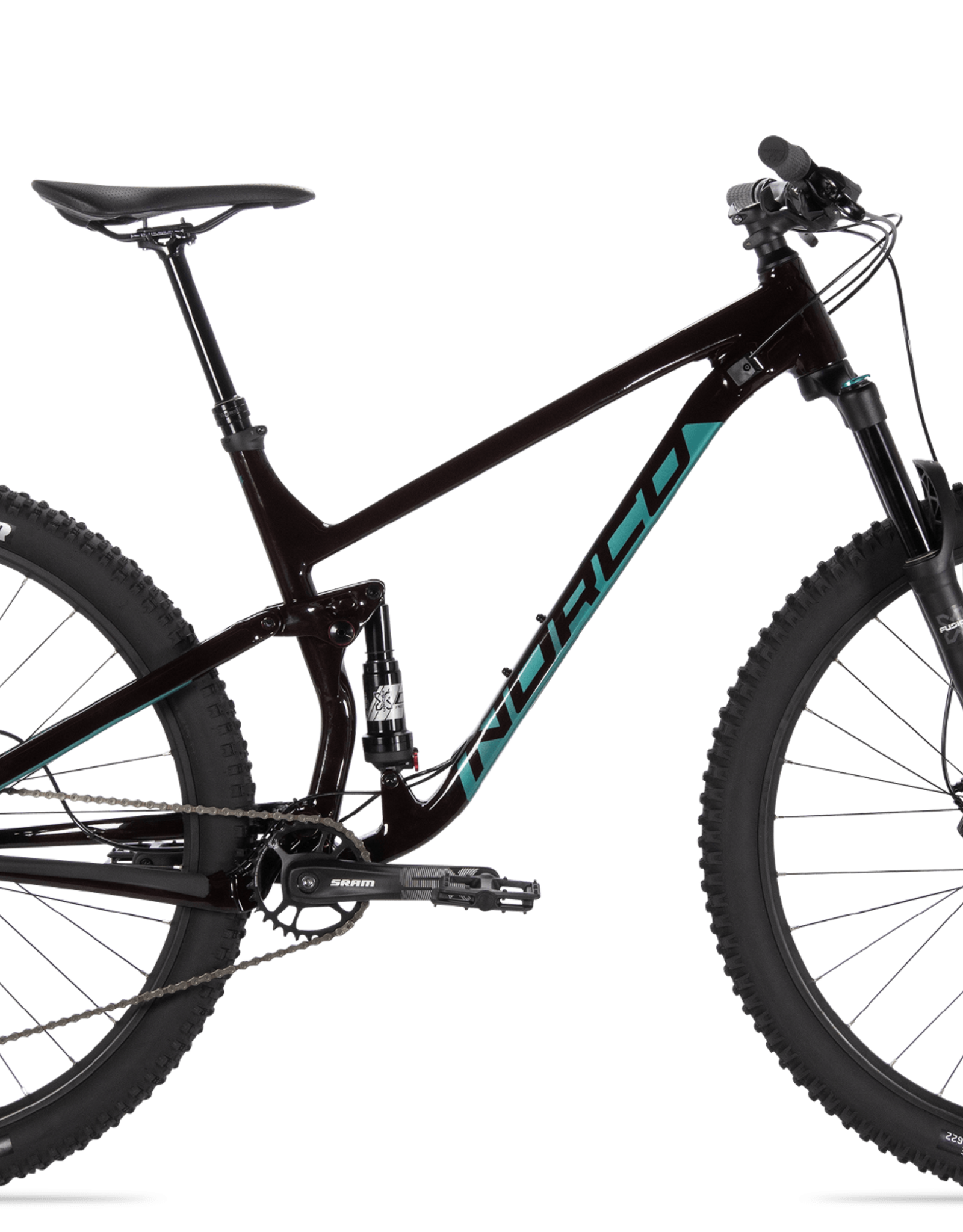 NORCO Norco FLUID FS 3 - RED/GREEN XL 29