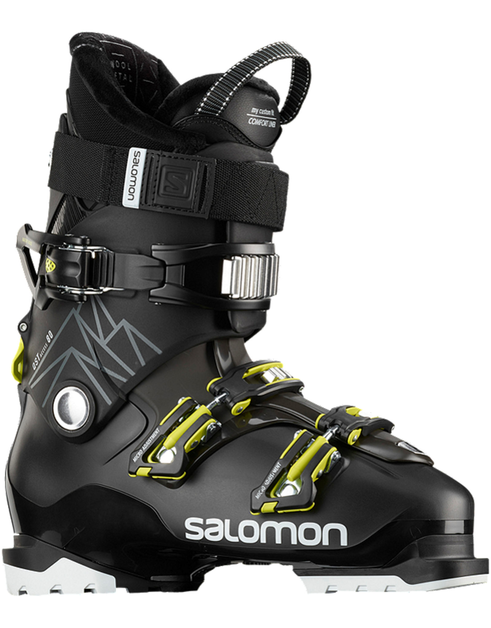 SALOMON Salomon QST Access 80 Black/Acid Green