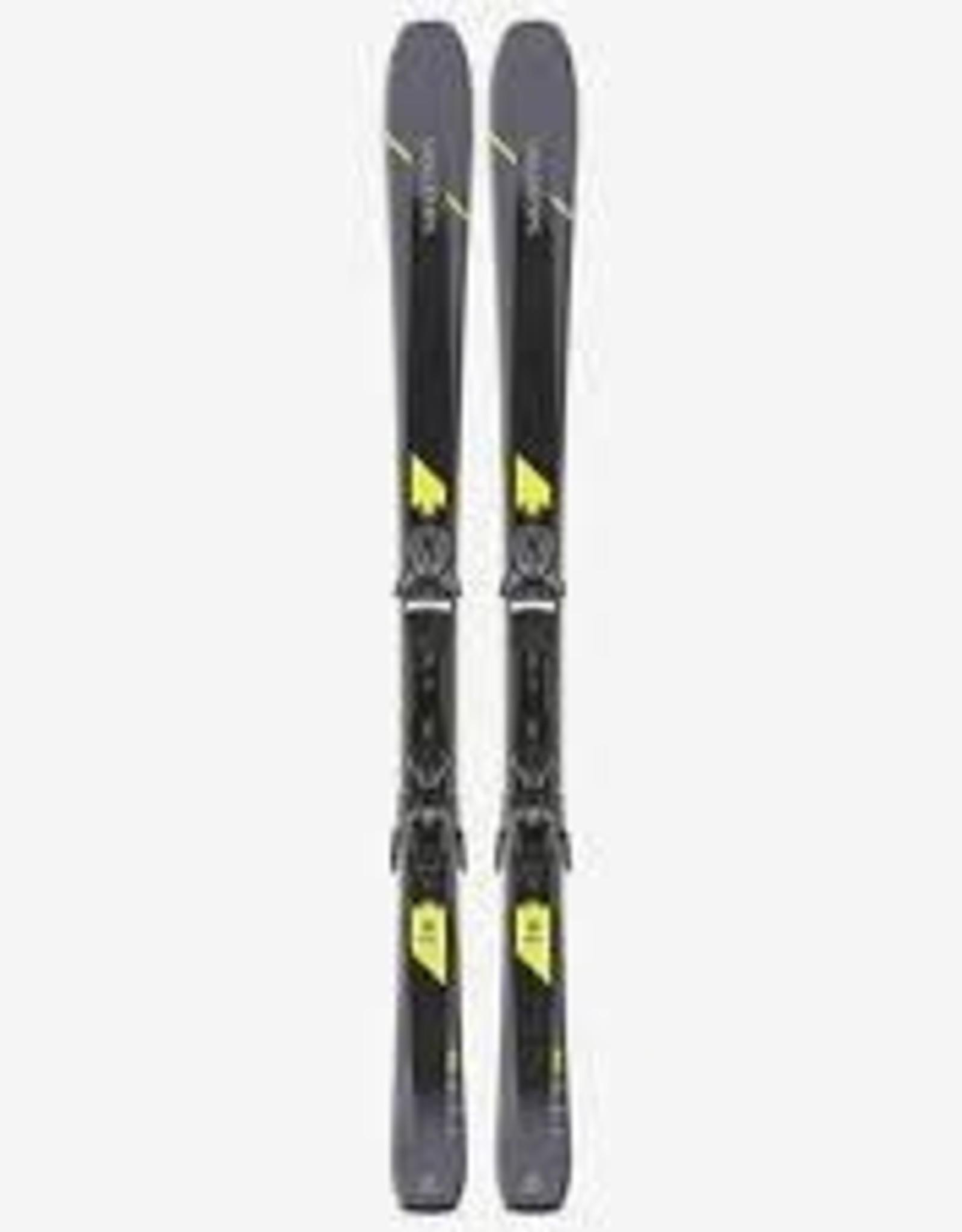 SALOMON Salomon XDR 80 Ski + Binding Z10 GW L80 Grey/Black/Yellow