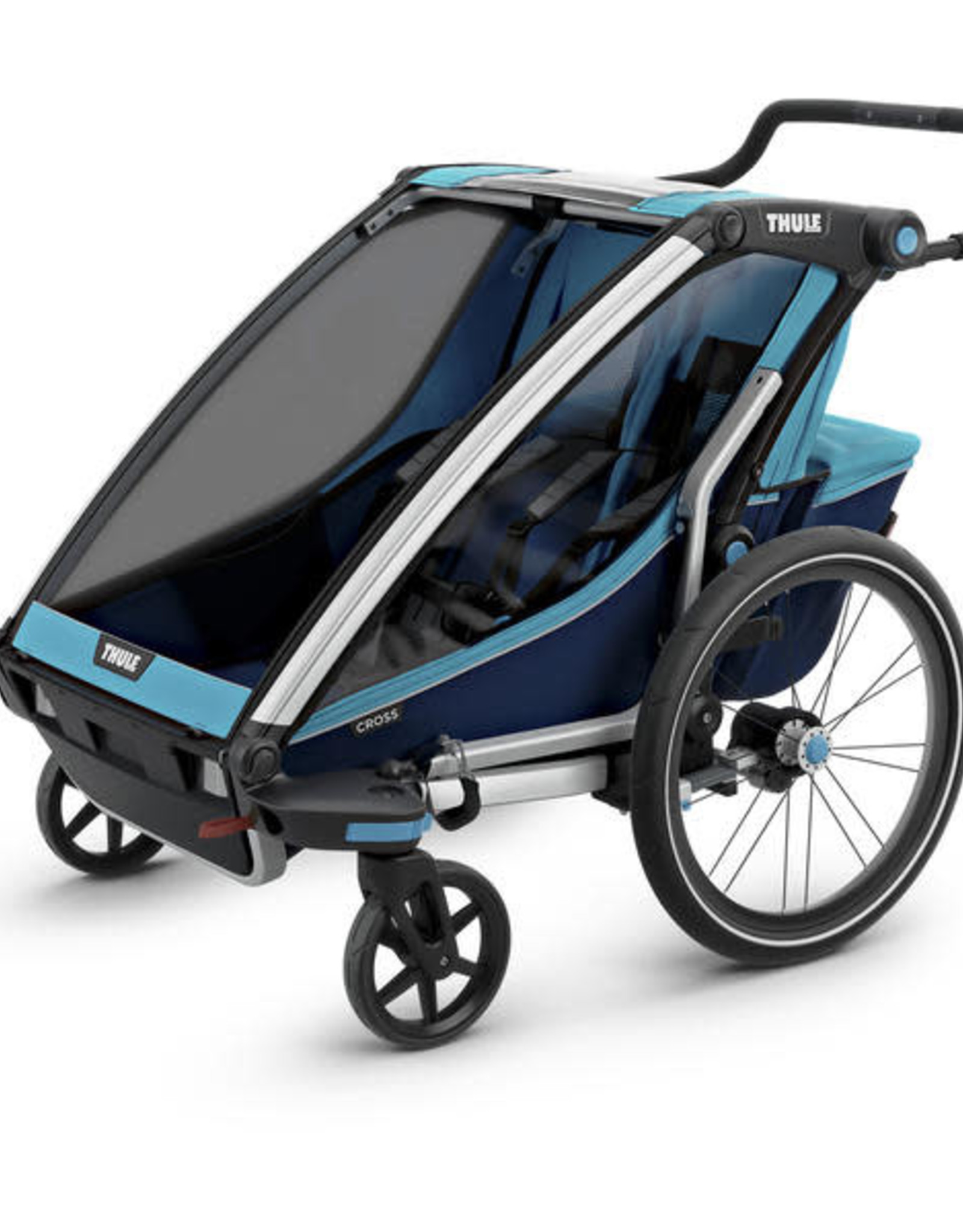 THULE Thule Chariot Cross 2 + Cycle/Stroll Blue