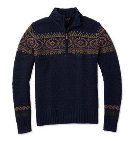 SMARTWOOL SmartWool Men's CHUP Hansker Half Zip Sweater Deep Navy