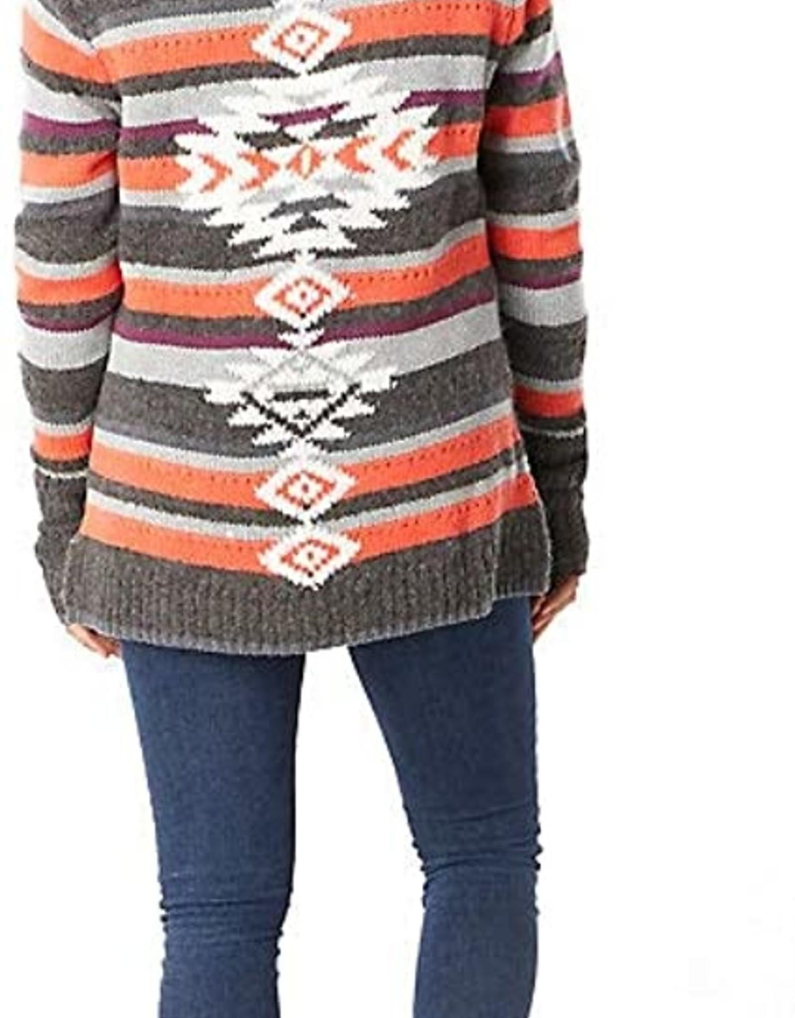 SMARTWOOL SmartWool Women's CHUP Potlach Half Zip Sweater Grey Heather Med