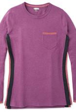 SMARTWOOL SmartWool Women's Shadow Pine Pocket Sweater Sangria Med